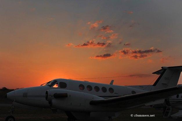 15 plane sunset sm