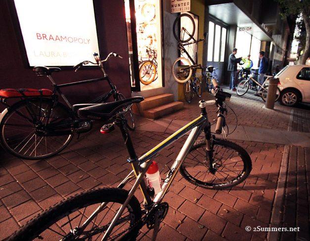 Bikes in Braamfontein