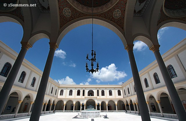Mosque courtyard