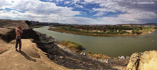 Orange River panoramic