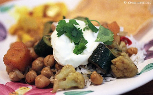Chickpea curry small