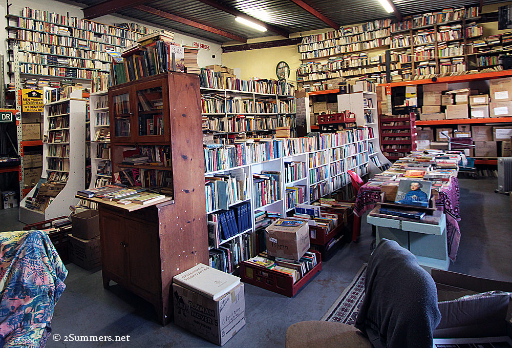 Kalahari Books stacks