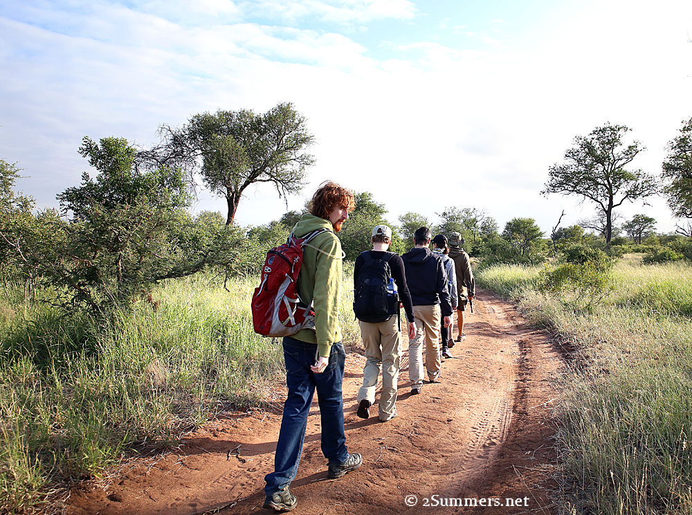 10Africa on Foot walk