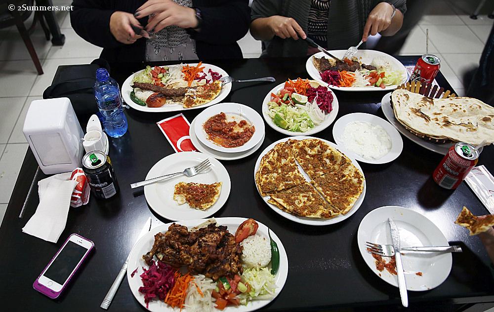 Burhans dinner