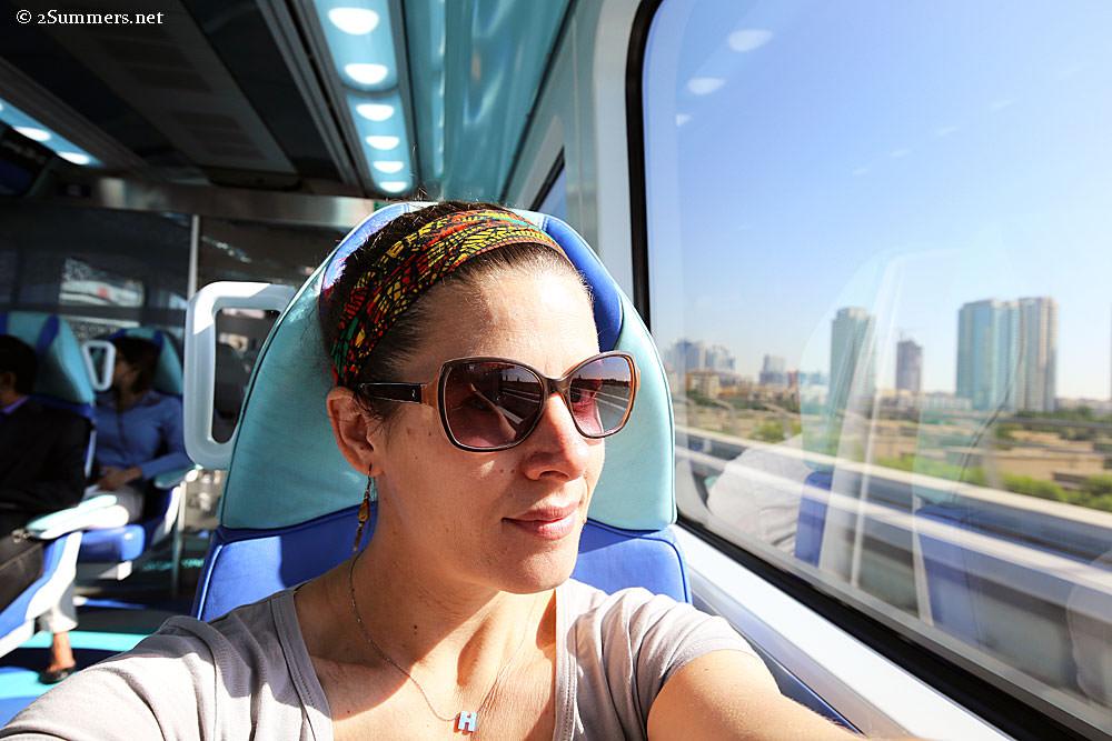 Heather-on-metro