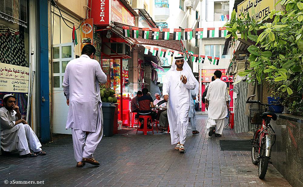 Old-Dubai-street