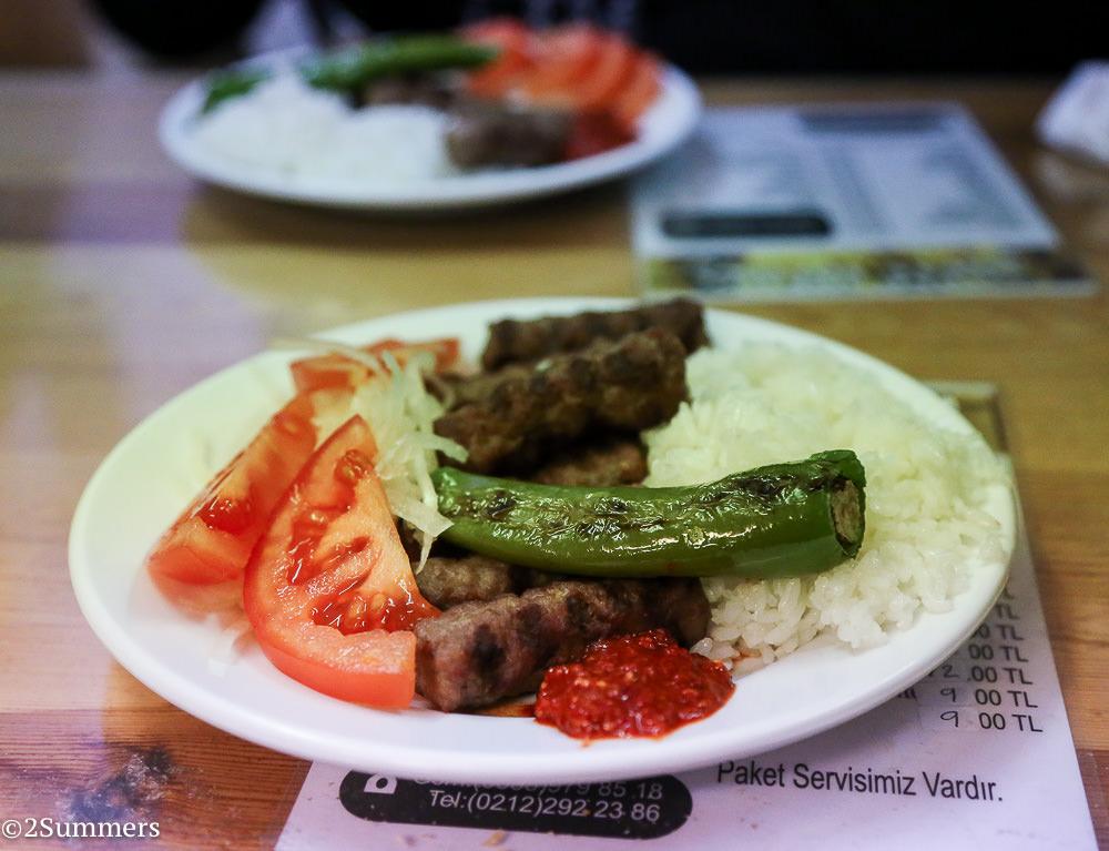 First kebab Istanbul
