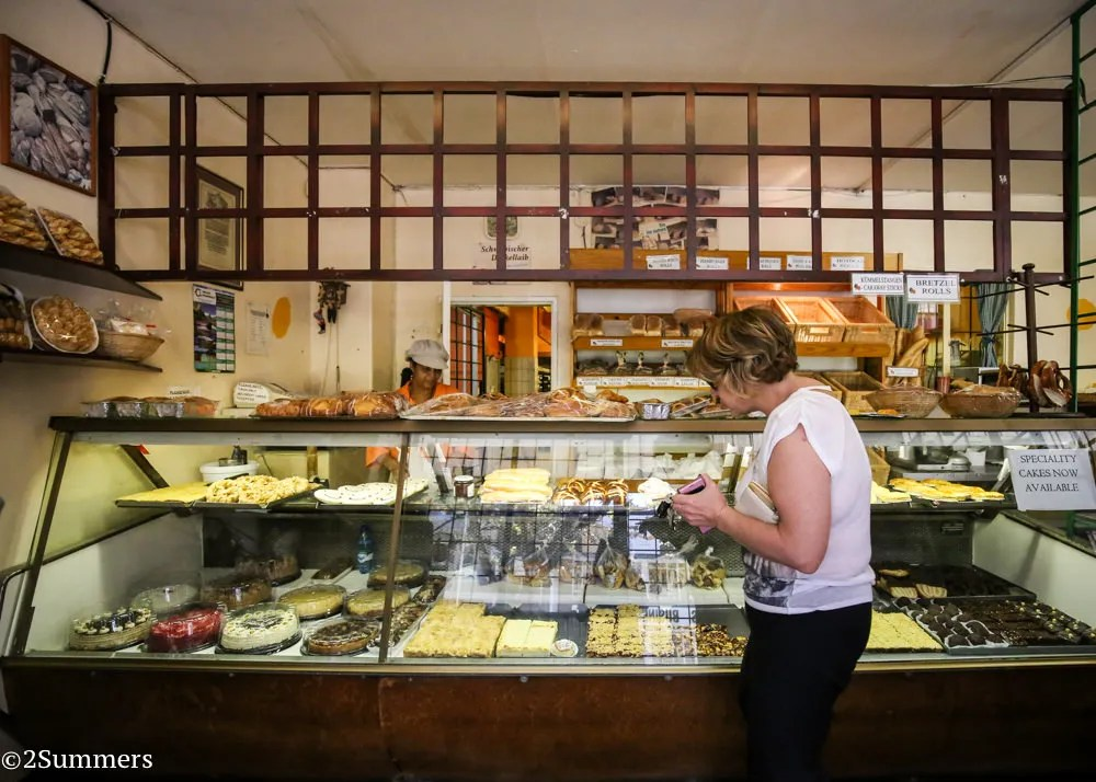 The Black Forest Bakery counter