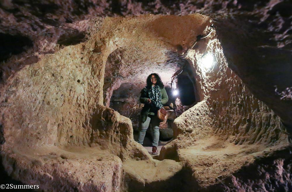 Meruschka underground city