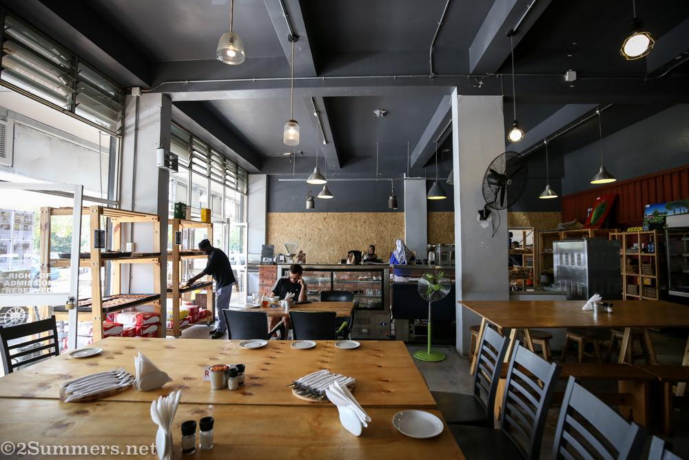 Inside Industry Bakery