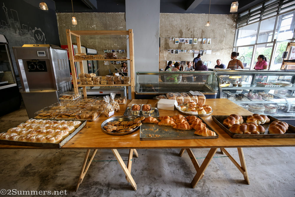 Industry Bakery table