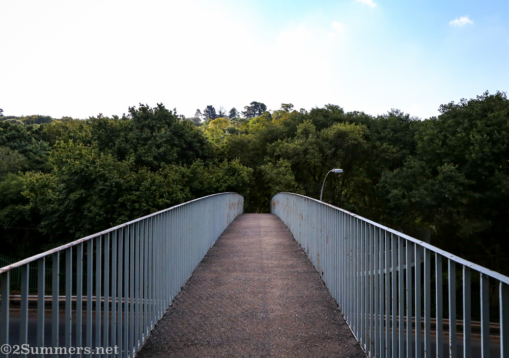 Pedestrian bridge in the Wilds