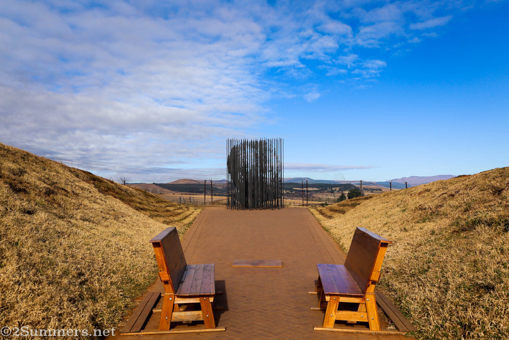Nelson Mandela Capture Site benches