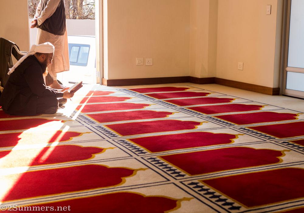 Northcliff Jummah Musjid carpet