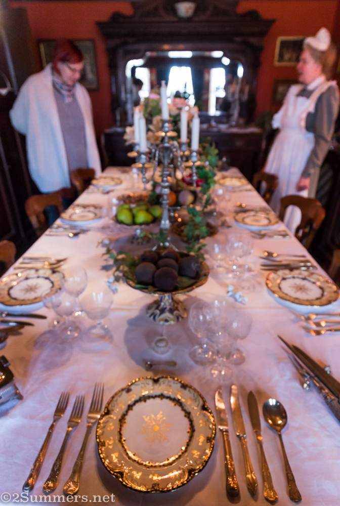 Lindfield House dining room
