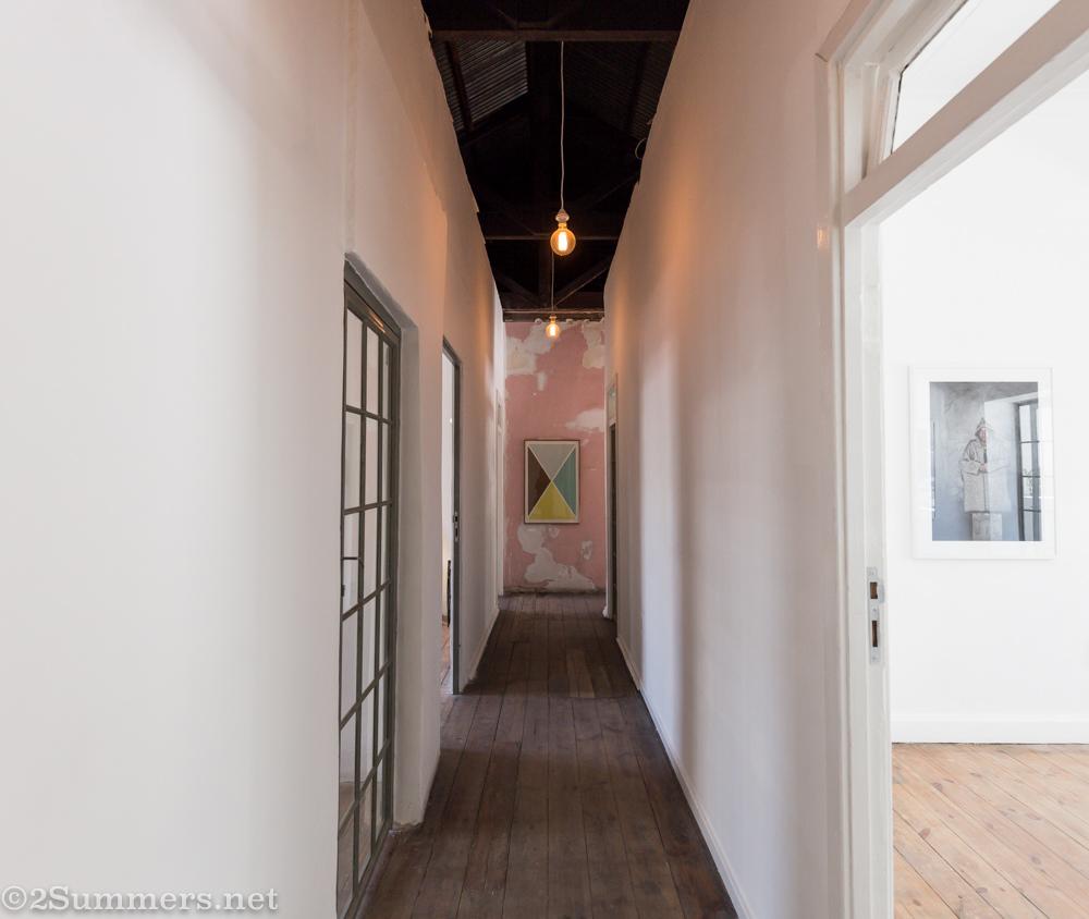 Upstairs hallway at Cosmopolitan, 2016