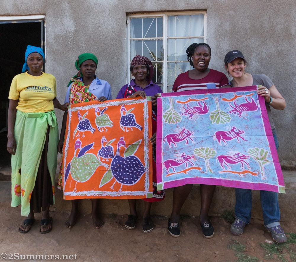 The Twananani ladies and me
