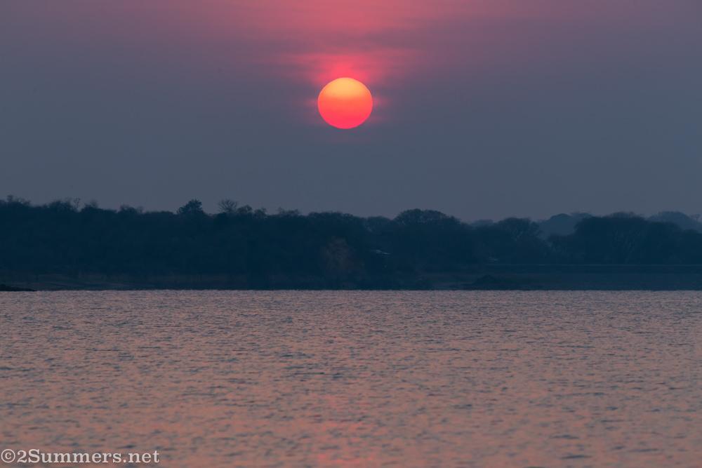 Sunrise over Albasini Dam