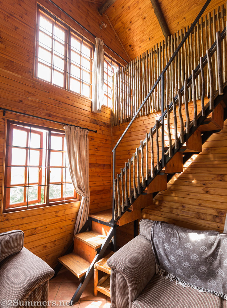 Stone Hill cottage stairs