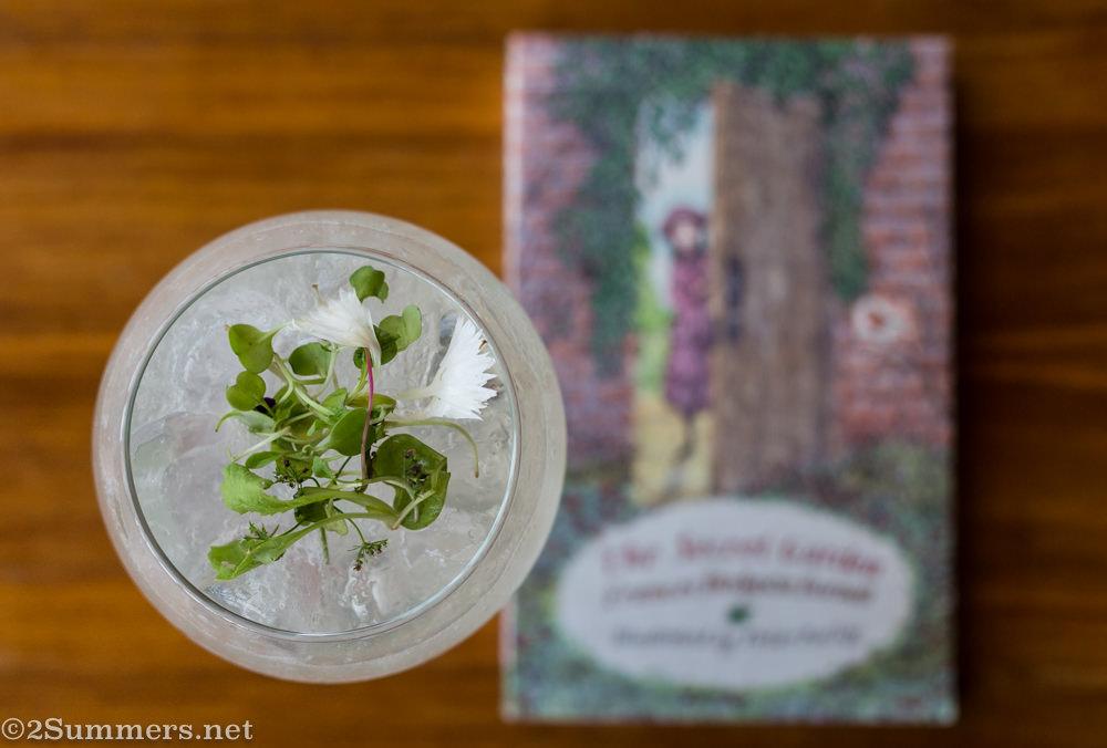The Secret Garden cocktail