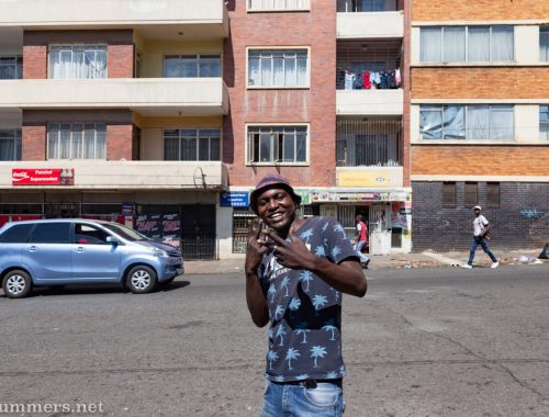 Guy in Hillbrow