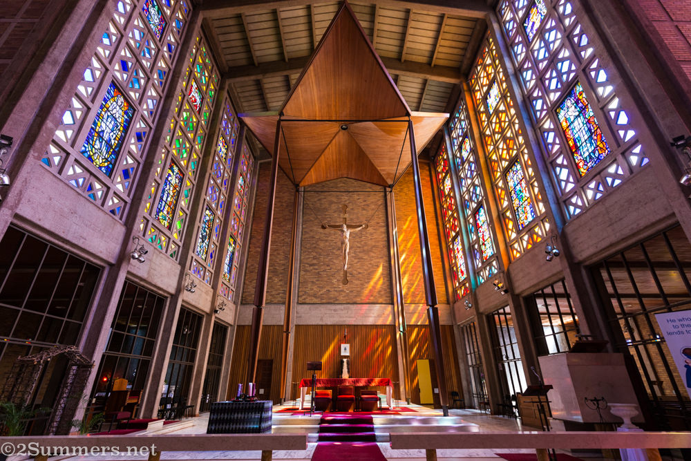 Pulpit of Christ the King Cathedral in Hillbrow
