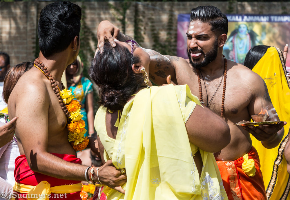 Kavady blessing