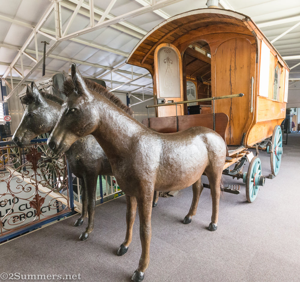 Carriage at Transport Museum