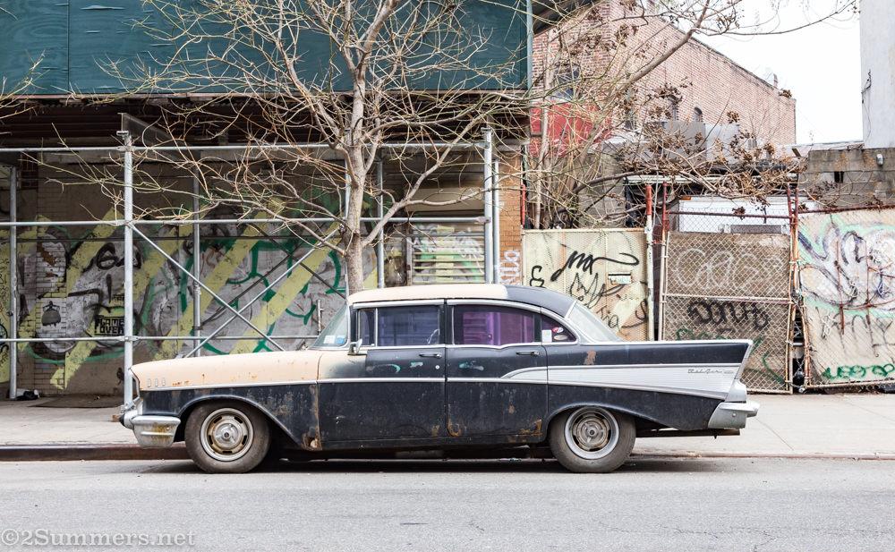 Old car, Williamsburg