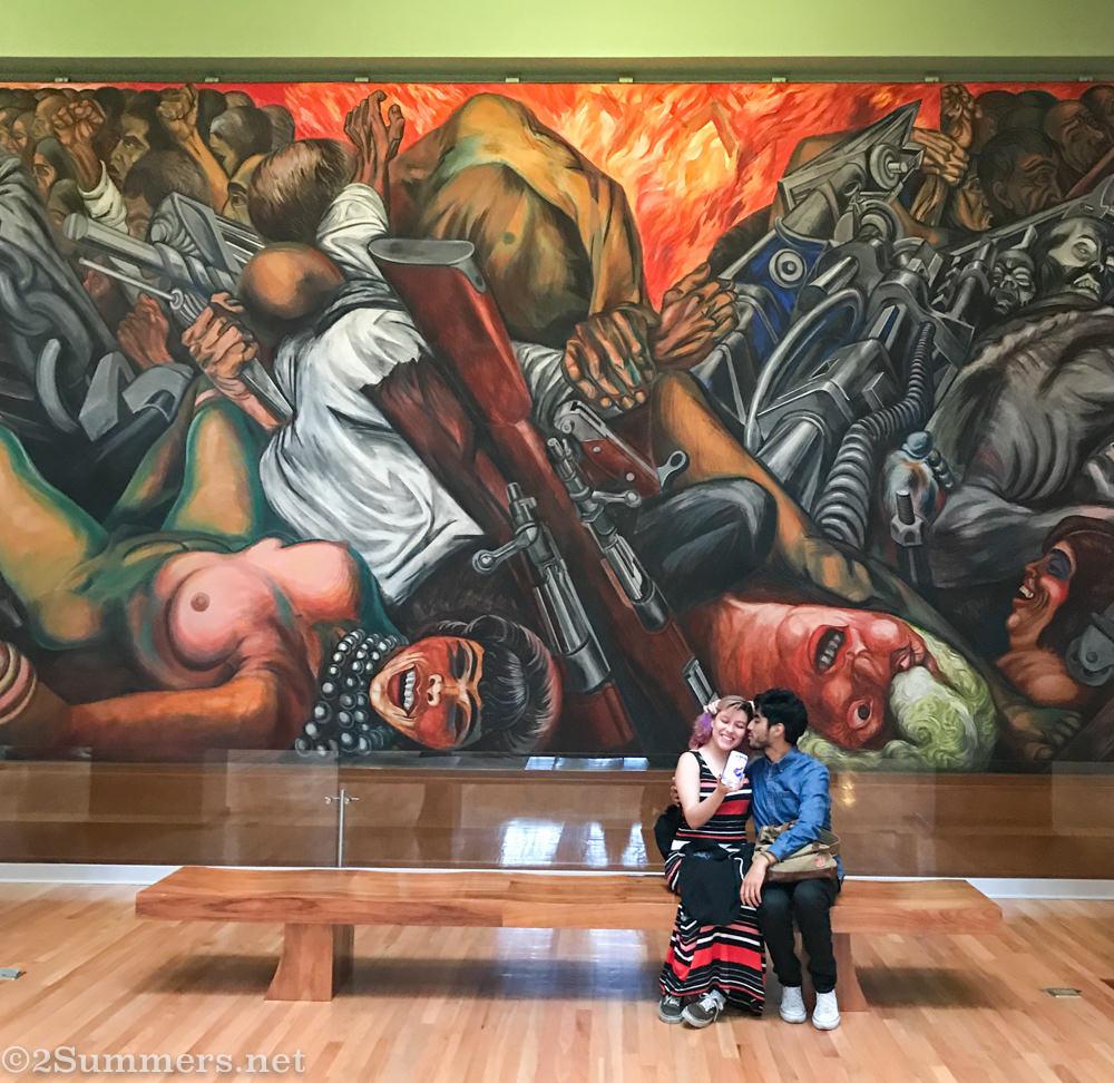 Mural at Bellas ARtes