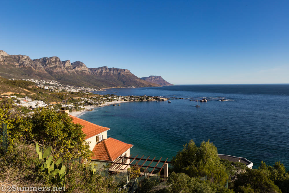 Cape Town view of Clifton Beach