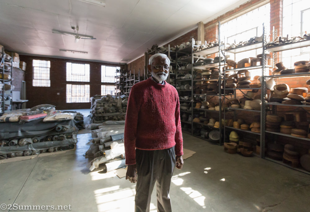 Harshad Master in the warehouse