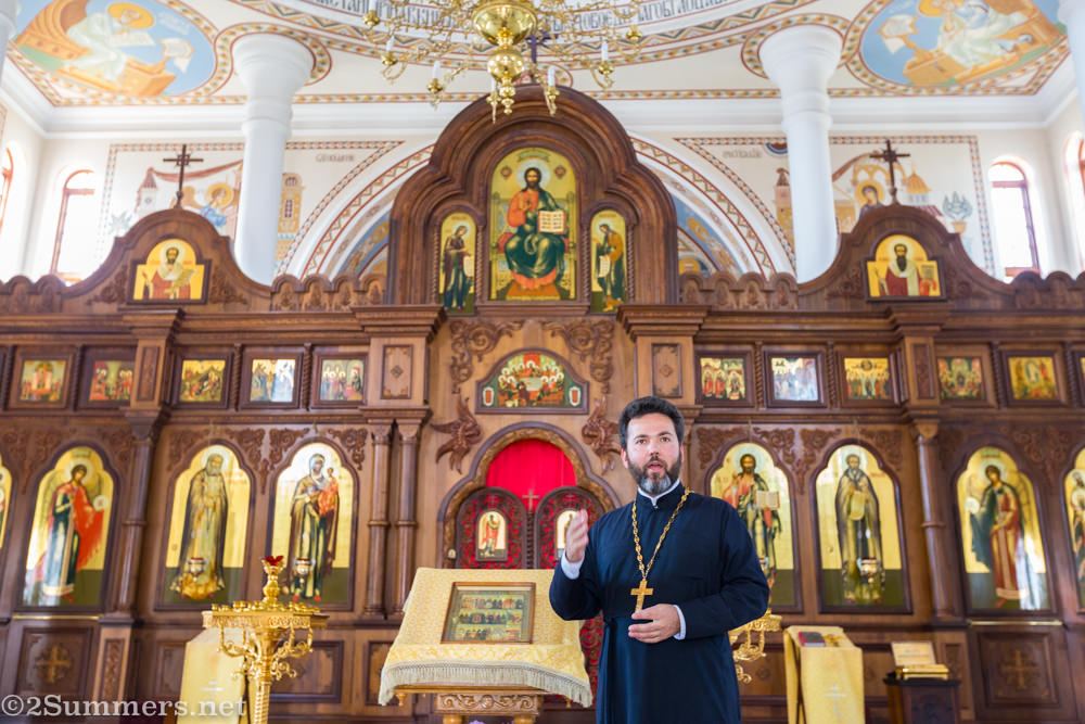 Father Daniel at St. Sergius