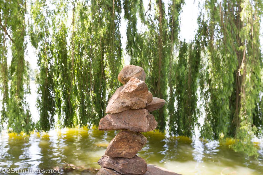 Rock art in Rhodes Park