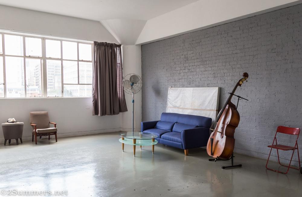 Studio of Sam Nhlengethwa