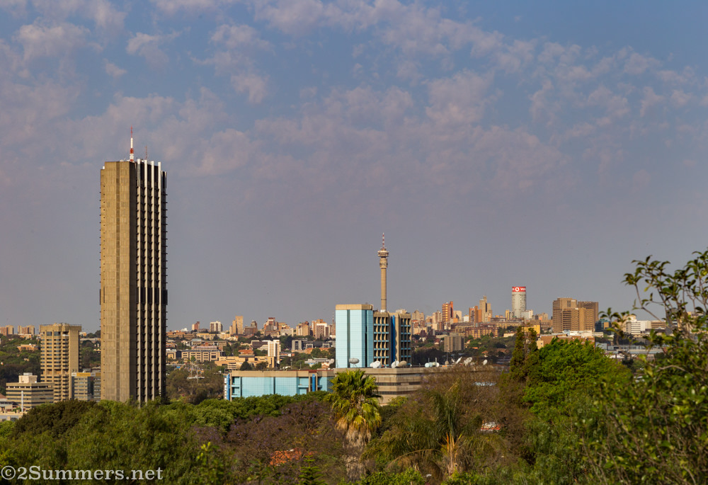 View of Joburg from the Jesuit Institute