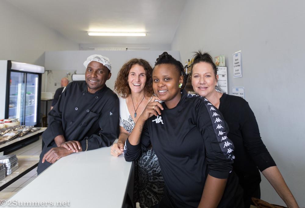Tamar and staff at Glenhazel Feigel's