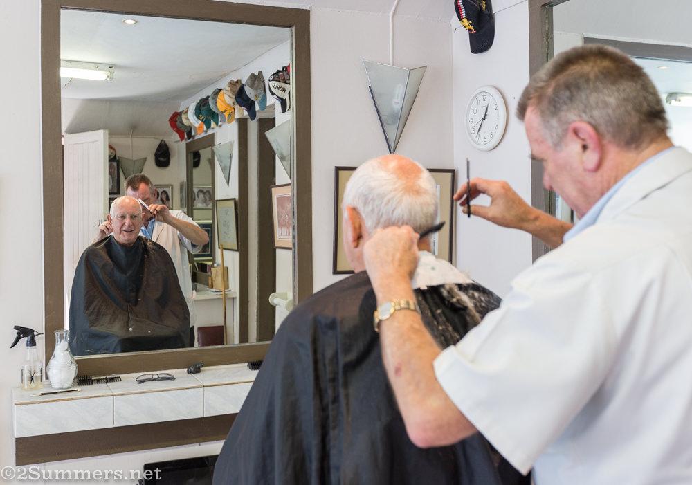 Haircut at Scala Barber