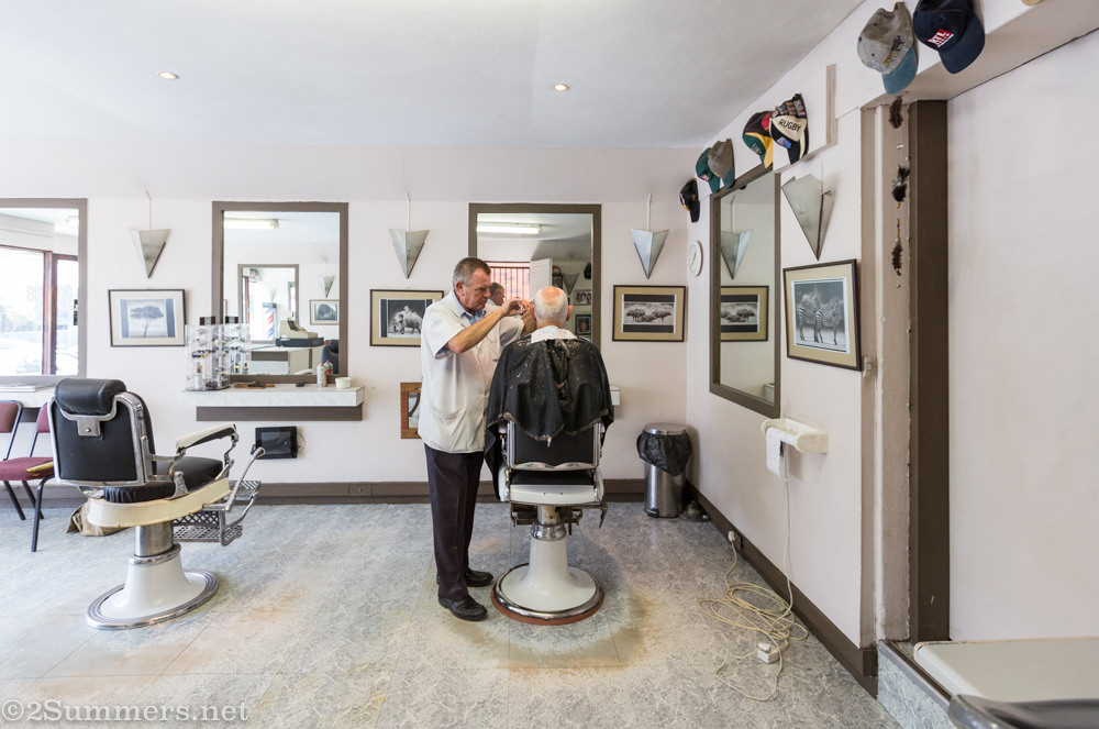 Scala Barber inside