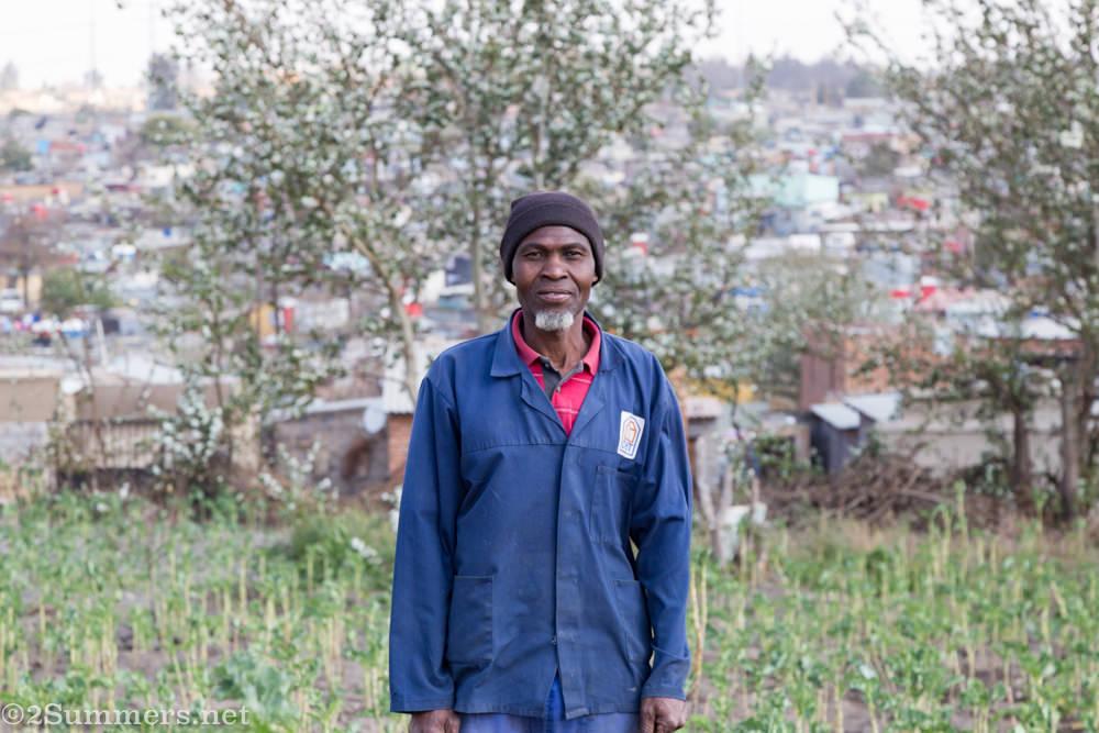 Farmer in Tembisa