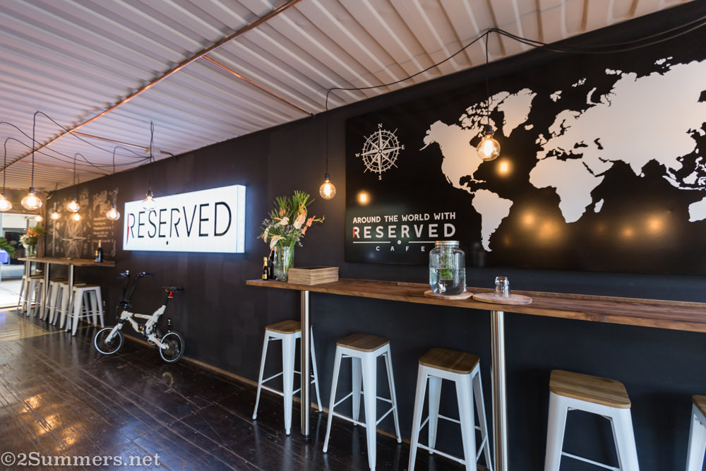 Inside Reserved Cafe in Melville