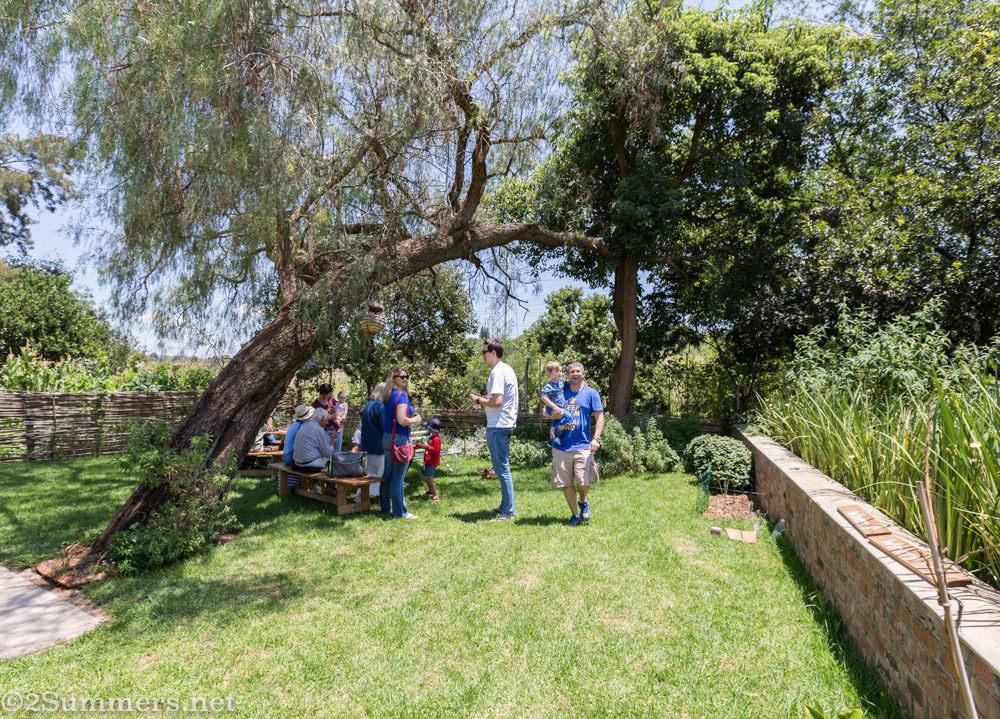 The Gerakaris garden