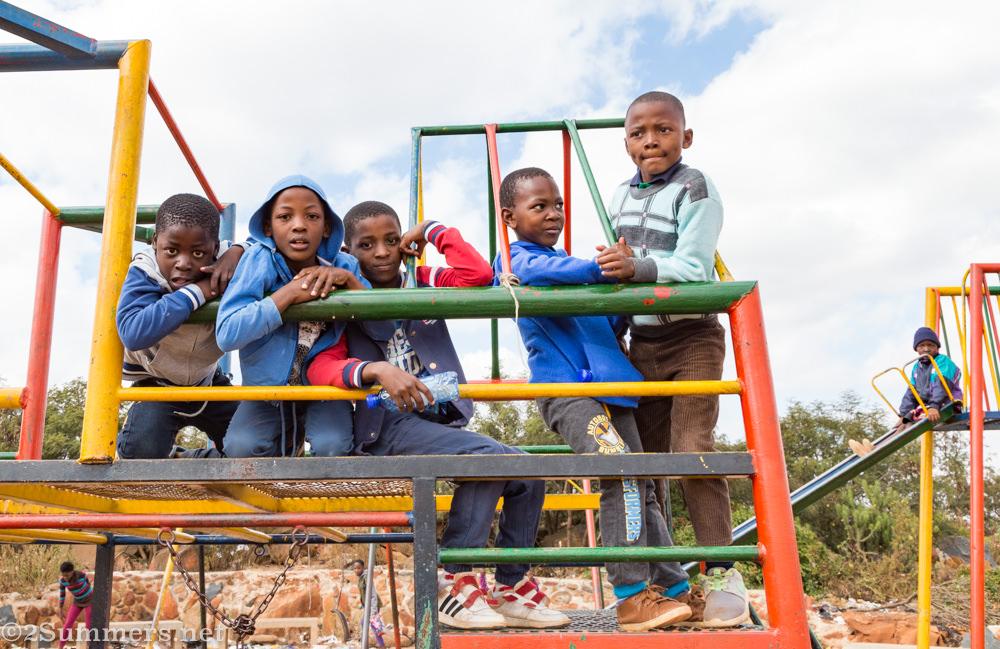 Kids in Orange Farm