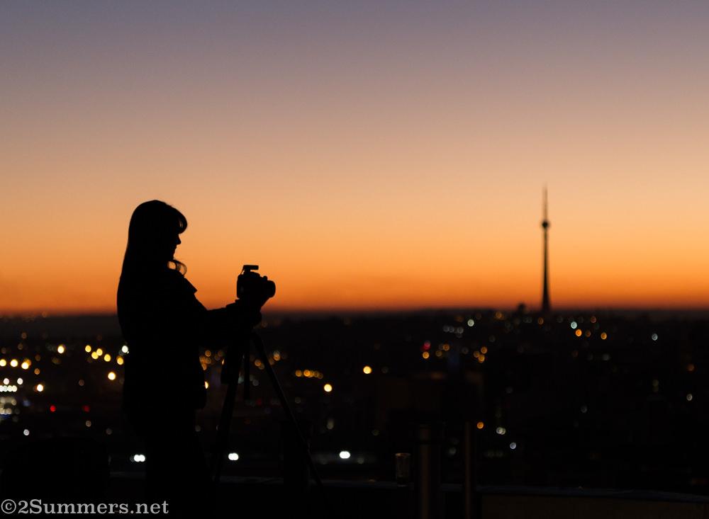Jozi silhouette