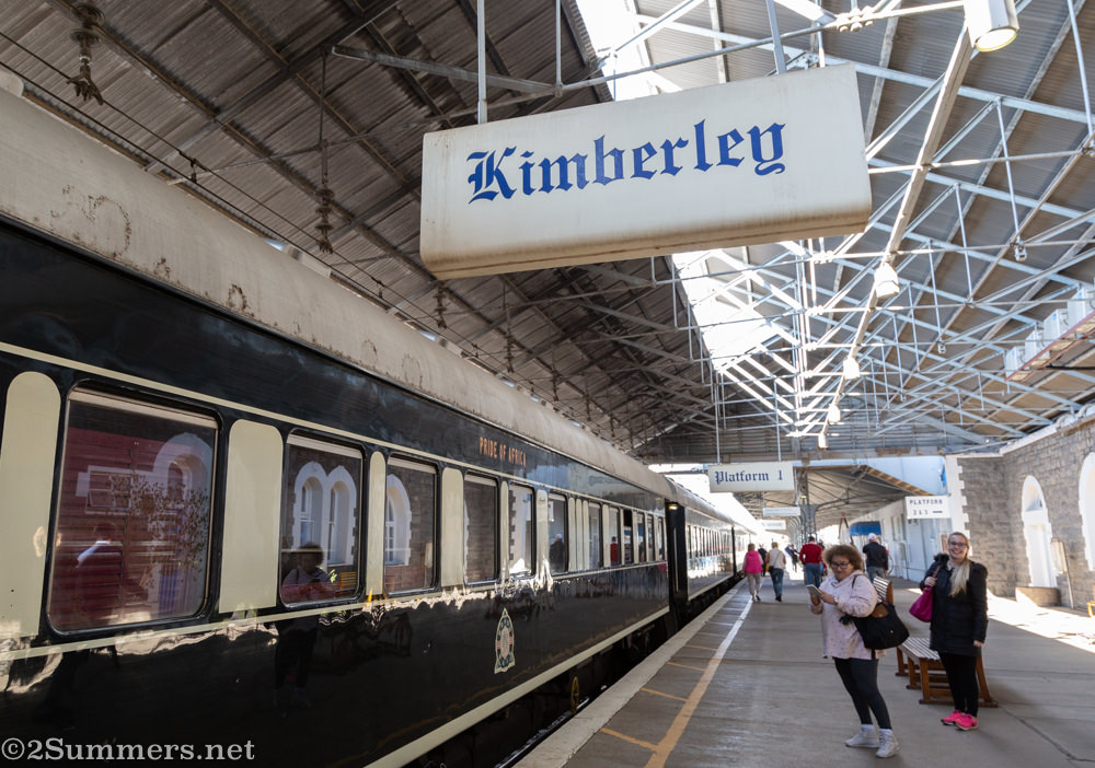 Kimberley train station