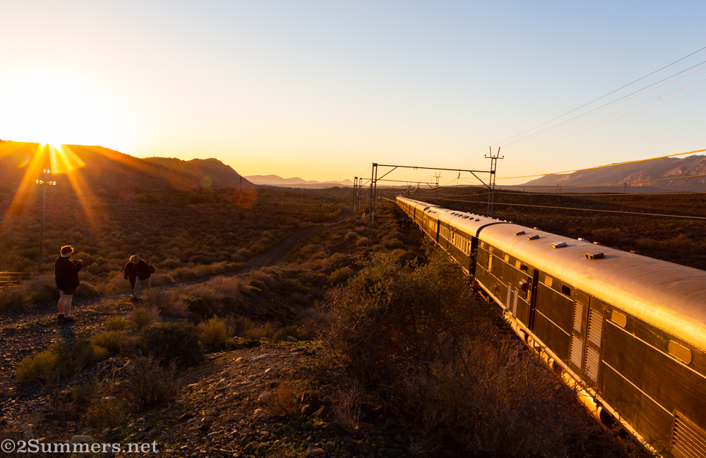 Sunrise outside Matjiesfontein