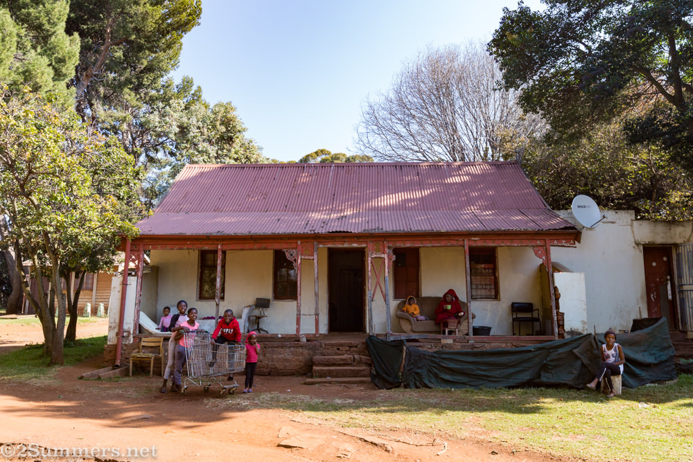 Oldest house in Johannesburg in Bezuidenhout Valley Park