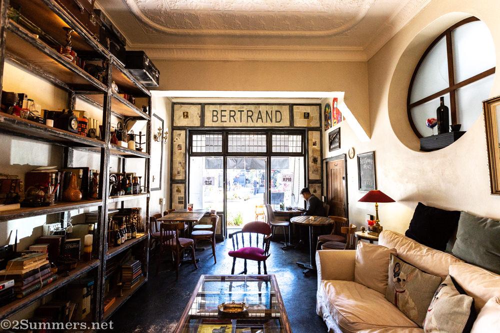 Inside Betrand in Maboneng