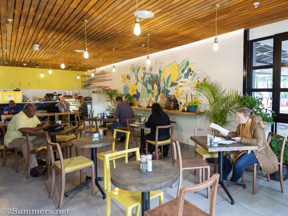 Inside Lexi's Healthy Eatery in Sandton