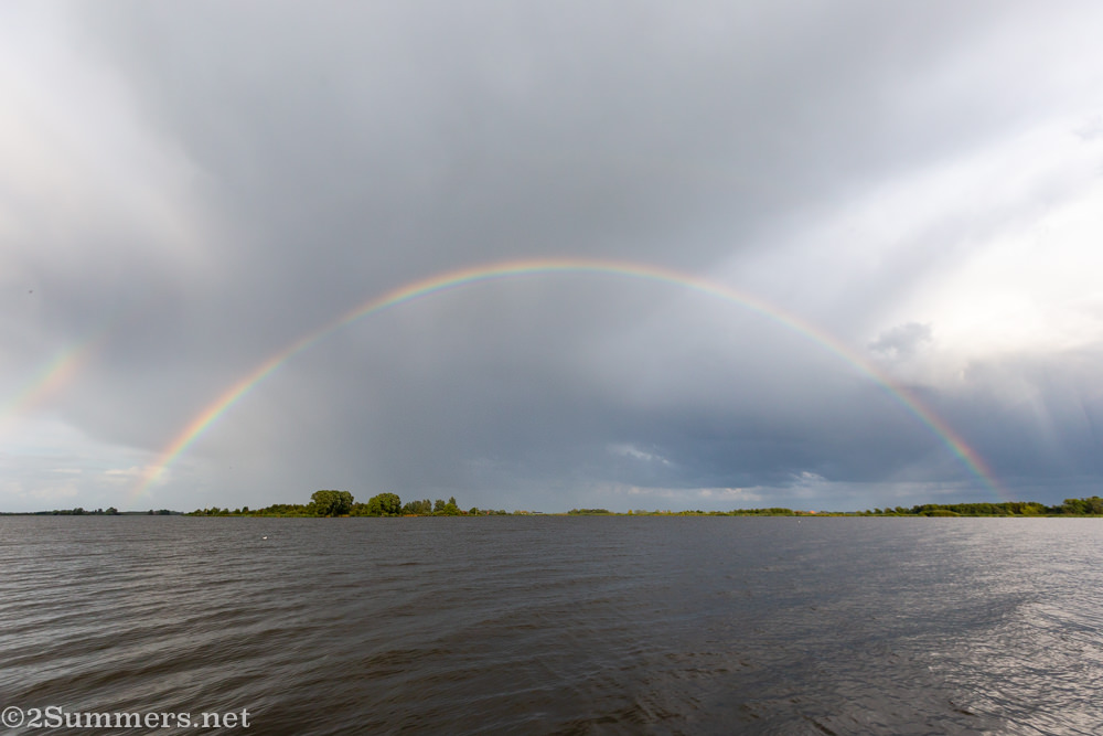 Rainbow over the Netherlands